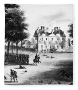 Battle Of Germantown, 1777 Fleece Blanket