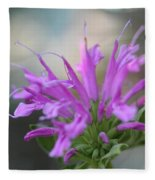 Bee Balm From The Panorama Mix Fleece Blanket