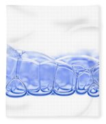Bubbles Fleece Blanket