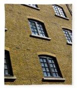 Butlers Wharf Windows Fleece Blanket