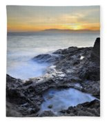 Cabo De Gata Fleece Blanket