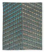 Canary Wharf London Art Fleece Blanket