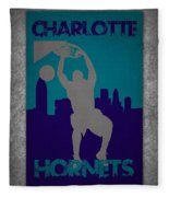Charlotte Hornets Fleece Blanket