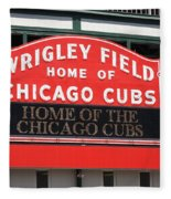 Chicago Cubs - Wrigley Field Fleece Blanket