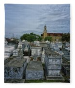 City Of The Dead - New Orleans Fleece Blanket