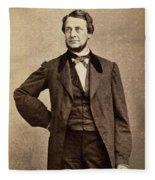 Clement Vallandigham (1820-1871) Fleece Blanket
