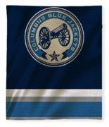 Columbus Blue Jackets Uniform Fleece Blanket
