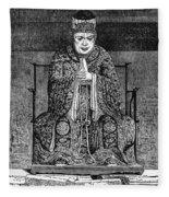 Confucius (c551-479 B Fleece Blanket