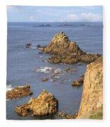 Cornwall - Land's End Fleece Blanket