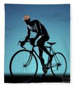 Cycling Fleece Blanket