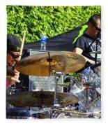 Dave Lombardo And Pancho Tomaselli Fleece Blanket
