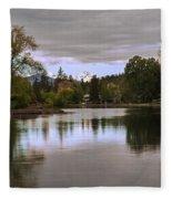 Deschutes River - Oregon Fleece Blanket