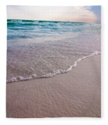Destin Florida Beach Scenes Fleece Blanket