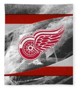 Detroit Red Wings Fleece Blanket