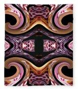 Empress Abstract Fleece Blanket