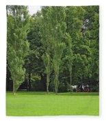 English Garden Munich Germany Fleece Blanket