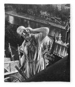 Eugene Viollet Le Duc (1814-1879) Fleece Blanket