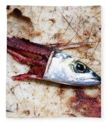 Fish Bait Fleece Blanket