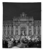 Fontana Di Trevi Fleece Blanket