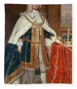 George II (1683-1760) Fleece Blanket