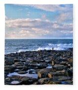 Giant's Causeway Coast Fleece Blanket