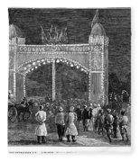 Golden Jubilee, 1887 Fleece Blanket