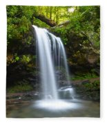 Grotto Falls Fleece Blanket
