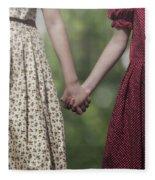 Hand In Hand Fleece Blanket