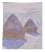 Haystacks Fleece Blanket