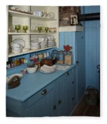 Heritage Cottage Museum On Bowen Island Fleece Blanket