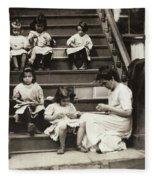 Hine Home Industry, 1912 Fleece Blanket