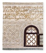 Islamic Architecture Fleece Blanket