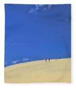 Jockey's Ridge State Park Fleece Blanket