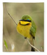 Little Bee-eater Fleece Blanket