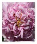 Marguerite Daisy Named Double Pink Fleece Blanket