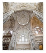 Mezquita Cathedral Interior In Cordoba Fleece Blanket