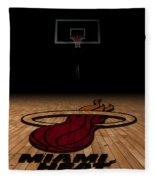 Miami Heat Fleece Blanket
