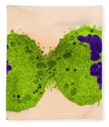 Mitosis, Late Telophase, Tem Fleece Blanket