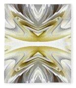 Nonstop Apple Blossom Abstract Fleece Blanket