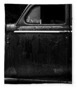 Old Junker Car Open Edition Fleece Blanket