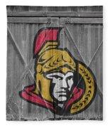 Ottawa Senators Fleece Blanket