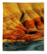 Painted Hills - Oregon Fleece Blanket