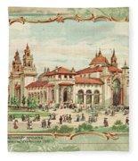 Pan-american Exposition Fleece Blanket