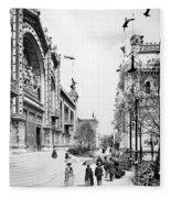 Paris Exposition, 1889 Fleece Blanket