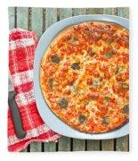 Pizza Fleece Blanket