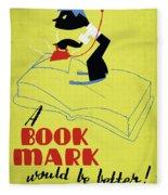 Poster Books, C1938 Fleece Blanket