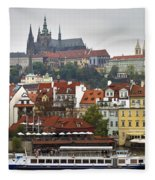 Prague Fleece Blanket