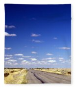 Road Ahead Fleece Blanket