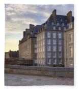 Saint-malo - Brittany Fleece Blanket