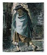 Samuel Pepys (1633-1703) Fleece Blanket